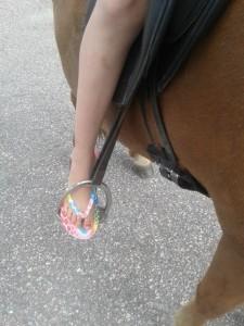 foppatofflor till häst